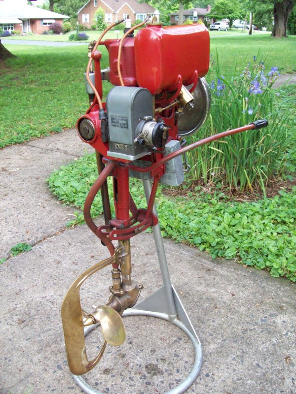 Vintage outboard motors virtual museum for Classic motors for sale