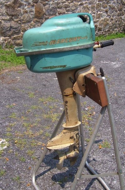 1956 Mercury Mark 6 Outboard Motor For Sale