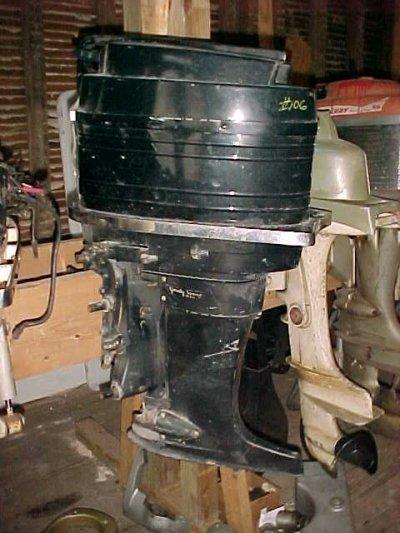 Mercury Merc Used Outboard on 1965 Mercury 650 Outboard Motor